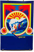 Load image into Gallery viewer, SURF'S UP | Vintage Blacklight Poster