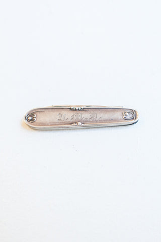 Sterling Silver Edwardian Fruit Knife
