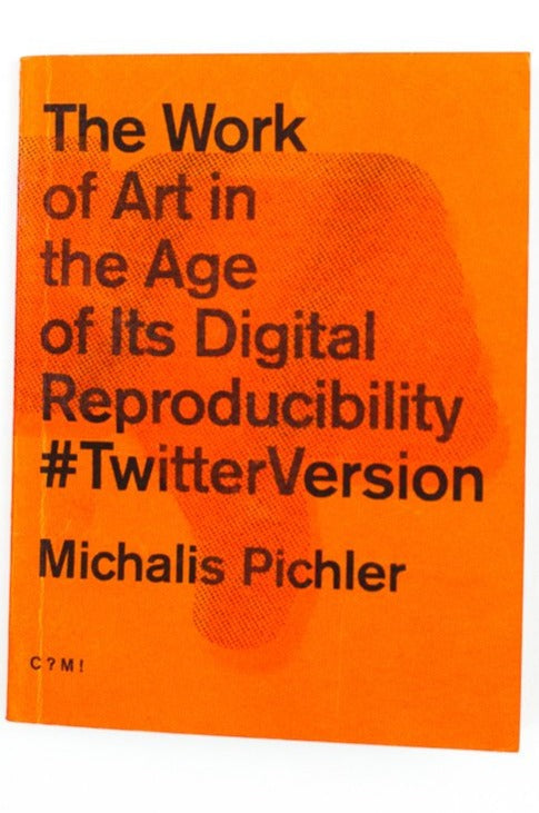 THE WORK OF ART IN THE AGE OF IT'S DIGITAL REPRODUCIBILITY