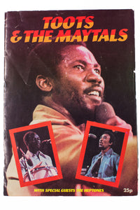 TOOTS AND THE MAYTALS | Tour Program