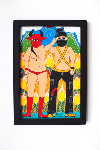 THE ZAPATISTA AND THE DEVIL