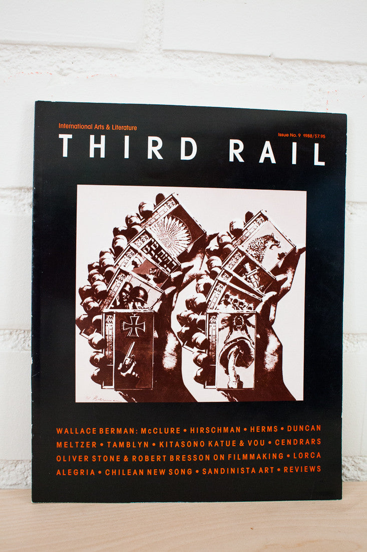 THIRD RAIL MAGAZINE No. 9 | Wallace Berman
