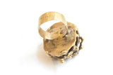 Pal Kepenyes Bronze + Pyrite Ring