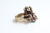 Pal Kepenyes Bronze Abstract Ring