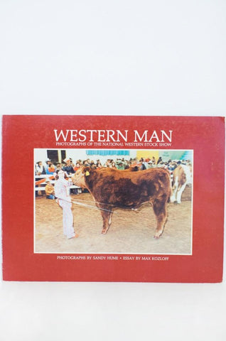 western man - photographs of the national western stock show