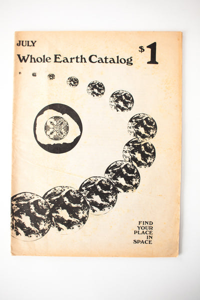Whole Earth Catalog July 1970