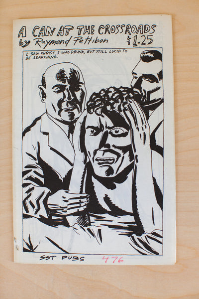 Raymond Pettibon | A Can At The Crossroads