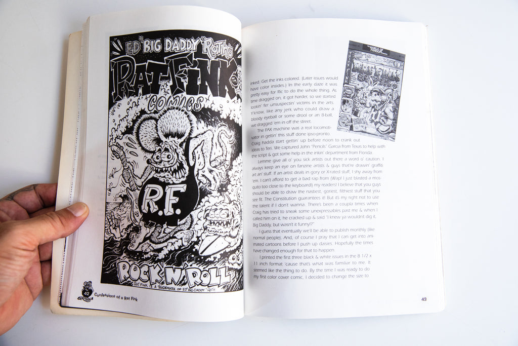 Load image into Gallery viewer, CONFESSIONS OF A RAT FINK | The Life and Times of Ed Big Daddy Roth