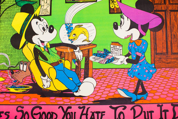 TASTES SO GOOD YOU HATE TO PUT IT DOWN | VINTAGE LITHOGRAPH