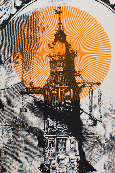 THE LIGHTHOUSE CAFE | VINTAGE SCREENPRINT