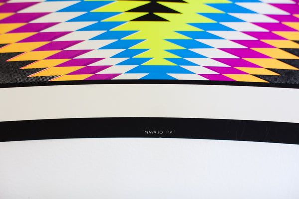 NAVAJO OP | VINTAGE BLACKLIGHT SCREENPRINT