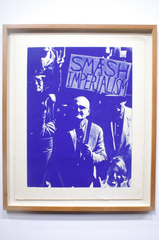 SMASH IMPERIALISM | VINTAGE SCREENPRINT