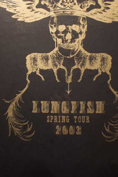 Lungfish Spring Tour 2003 | Silk Screened Print
