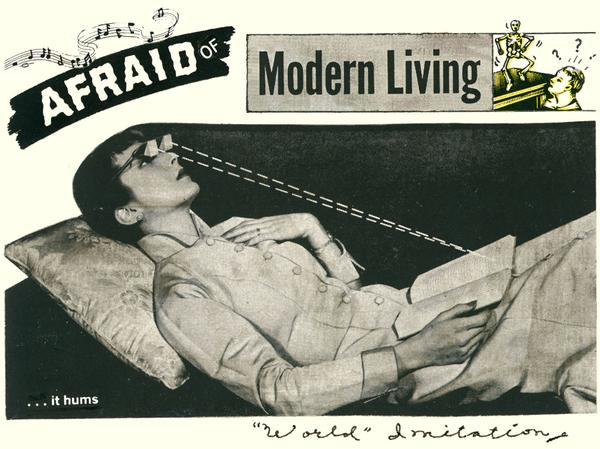 AFRAID OF MODERN LIVING | World Imitation & Monitor 1977-1982