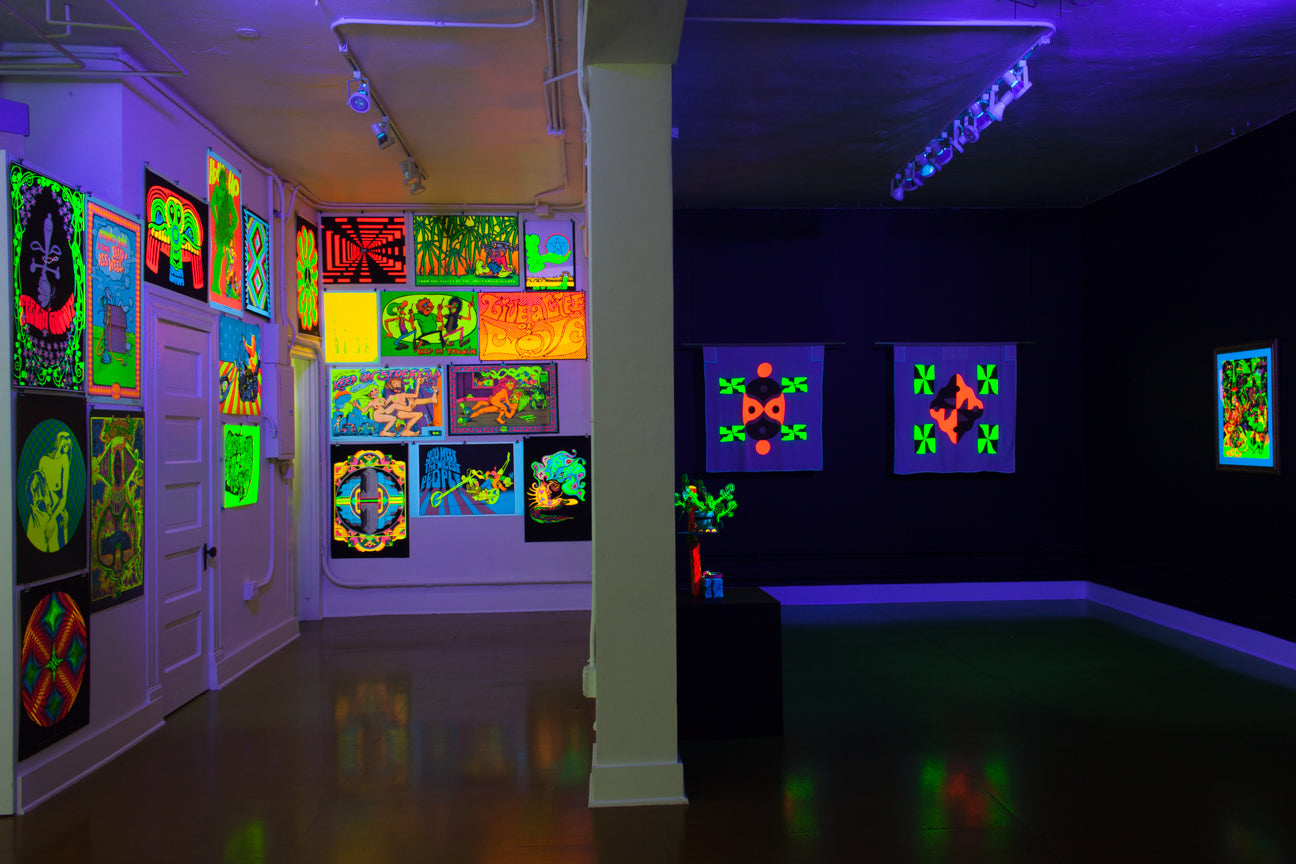 DILATED PUPILS | A Group Show of Contemporary and Classic Blacklight Art