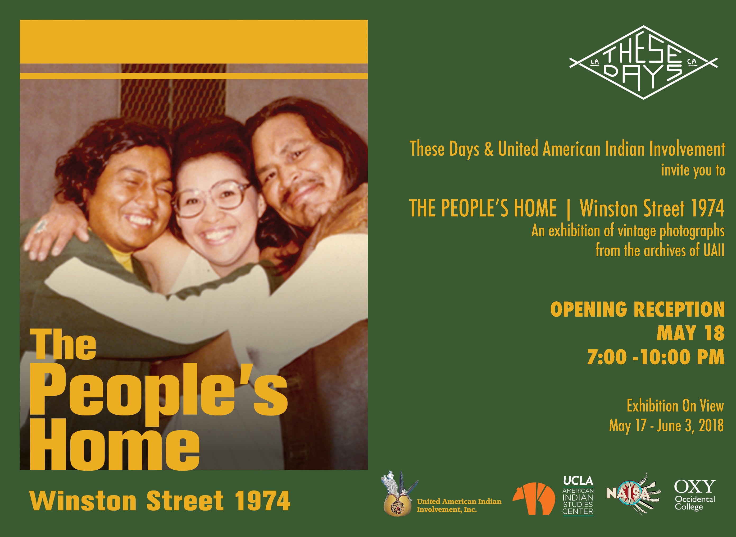 THE PEOPLE'S HOME | Winston Street 1974