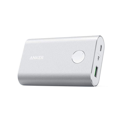 Anker Powerbank Anker PowerCore+ 10050 mAh Quick Charge 3.0 - Sølv