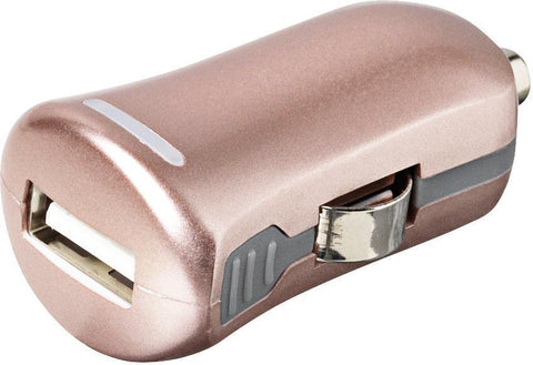 eSTUFF Lader eSTUFF Allure USB lader til bilen - Rose gold