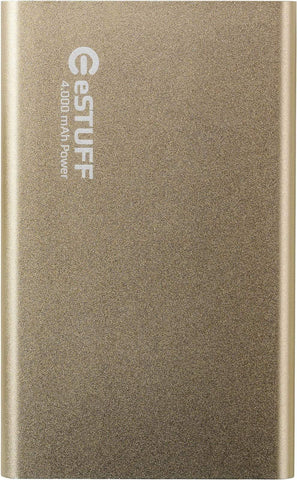 eSTUFF Powerbank eSTUFF Powerbank 4.000mAh - Guld