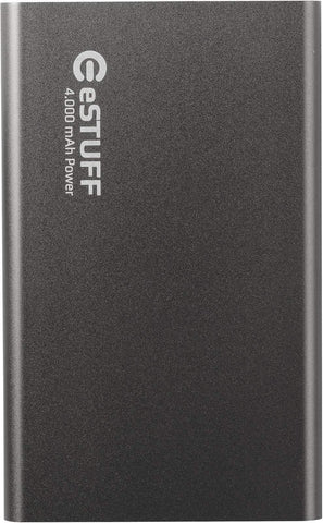eSTUFF Powerbank eSTUFF Powerbank 4.000mAh - Space Grey