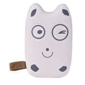 GreyLime Powerbank GreyLime Power Owl – Happy face – 7.800 mAh