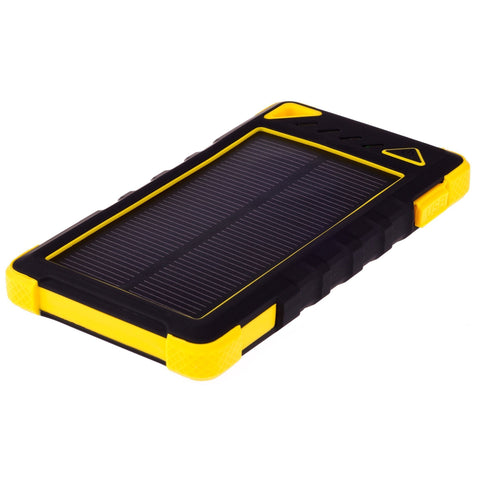 GreyLime Powerbank GreyLime Power Solar 8.000 mAh - Gul