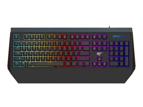 Havit Kabel tastatur Havit HV-KB370L - Gaming Tastatur - RGB - USB - Nordisk