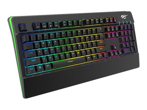 Havit Kabel tastatur Havit HV-KB389L Mekanisk Gaming Tastatur - RGB - Nordic - Sort