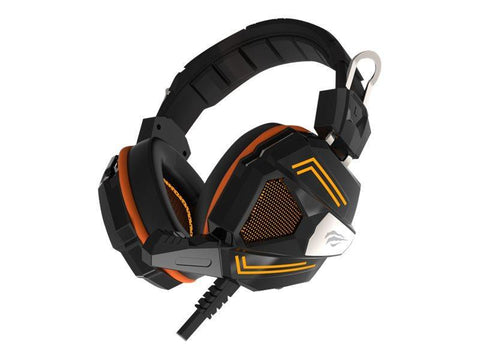 Havit Over Ear Havit Gaming Headset 7.1 kanal Surround Sound - Sort / Orange