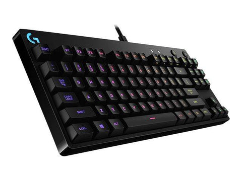 Logitech Kabel tastatur Logitech G PRO Mechanical Gaming Keyboard - Mekanisk - Gaming Tastatur - US - Sort