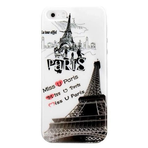 MonkeyMobil.dk Covers iPhone 5/5S cover - Miss U Paris