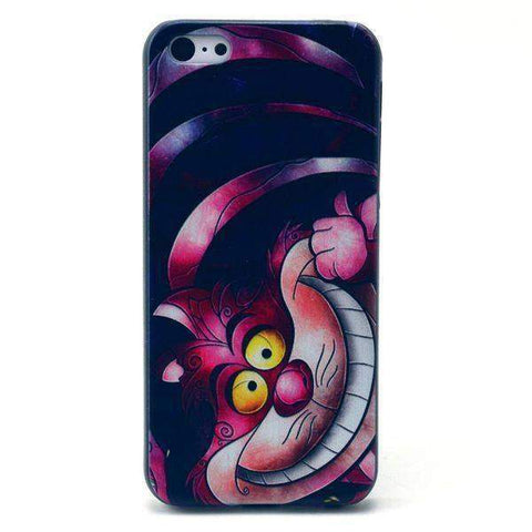 MonkeyMobil.dk Covers iPhone 5C cover - Cheshire cat