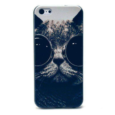 MonkeyMobil.dk Covers iPhone 5C cover - cool cat
