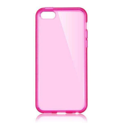 MonkeyMobil.dk Covers iPhone 5C cover - Pink Transparent