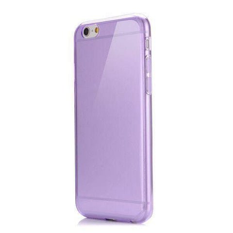 MonkeyMobil.dk Covers iPhone 6/6S ultra tyndt cover - transparent lilla