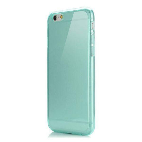 MonkeyMobil.dk Covers iPhone 6/6S ultra tyndt cover - transparent turkis