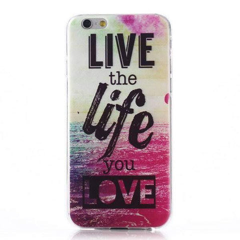 MonkeyMobil.dk Covers iPhone 6 Plus cover - live the life...