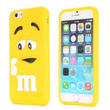 MonkeyMobil.dk Covers iPhone 6S / 6 cover - M&M 3D gul