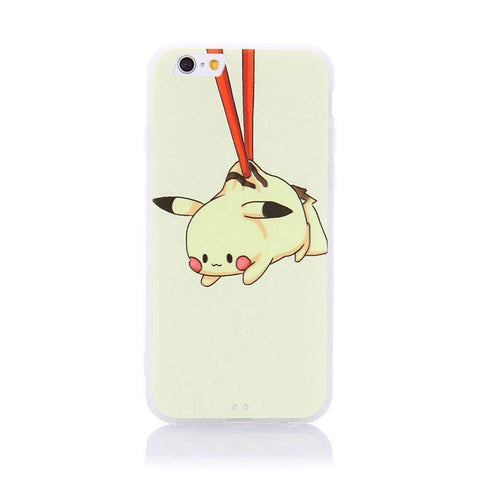 MonkeyMobil.dk Covers iPhone 6S / 6 cover - Pikachu vedhæng