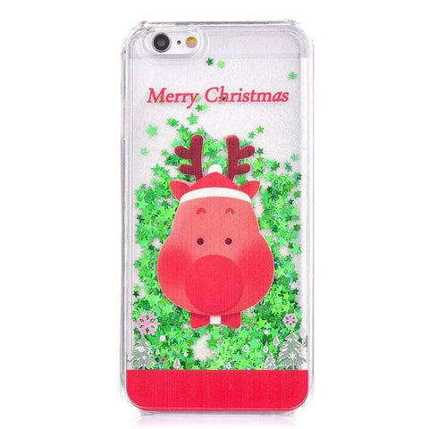 MonkeyMobil.dk Covers iPhone 6S / 6 cover - Rudolf transparent