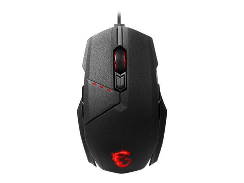 MSI Kabel mus MSI Clutch GM60 Optisk Gaming mus - Sort
