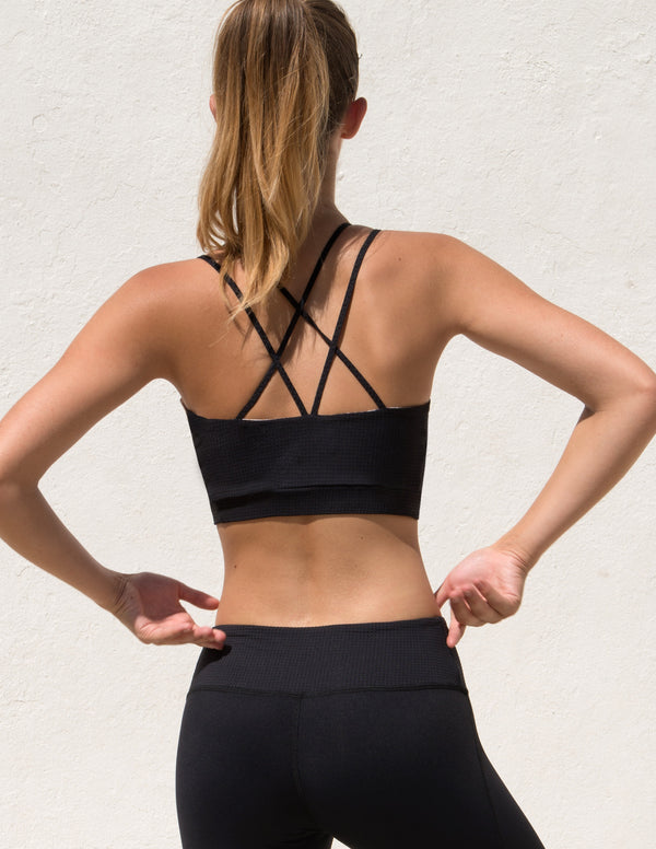 The Triangle Sportsbra Black