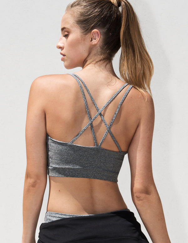 The Triangle Sportsbra Grey