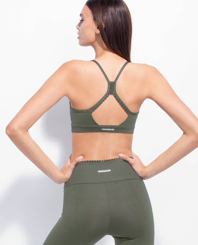 CLOUD NINE  SPORTSBRA  ARMY