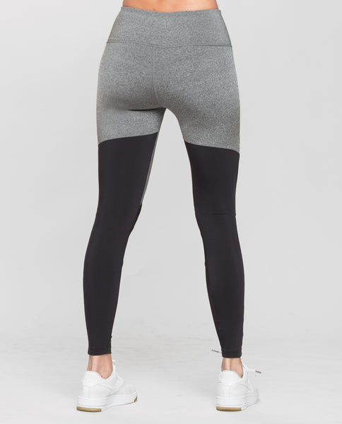 GET IN THE RING LEGGING GREY/BLACK