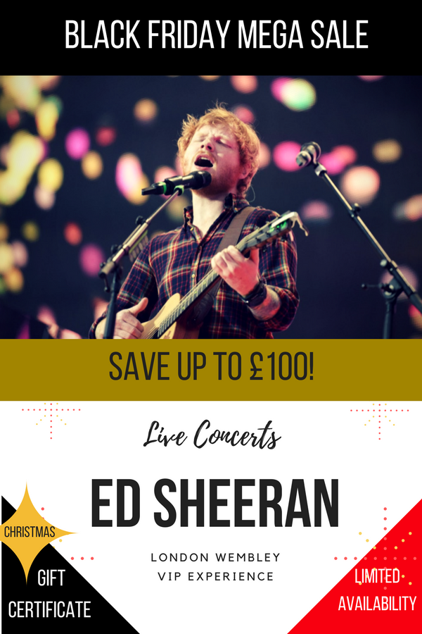 BLACK FRIDAY Ed Sheeran