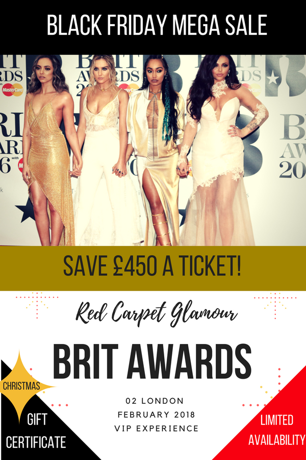 BLACK FRIDAY The Brits 2018 - Diamond Table Package