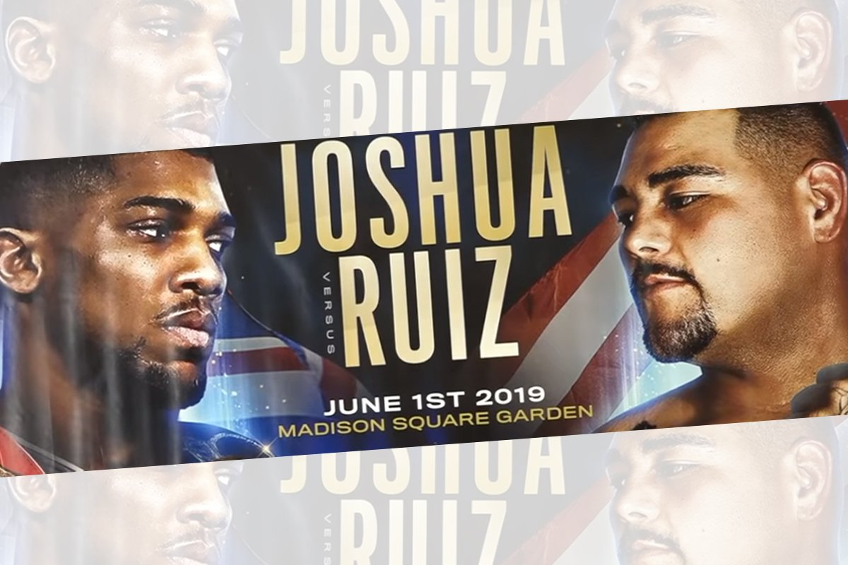 ANTHONY JOSHUA Vs ANDY RUIZ  5* NEW YORK TRAVEL PACKAGE - Front Row Events