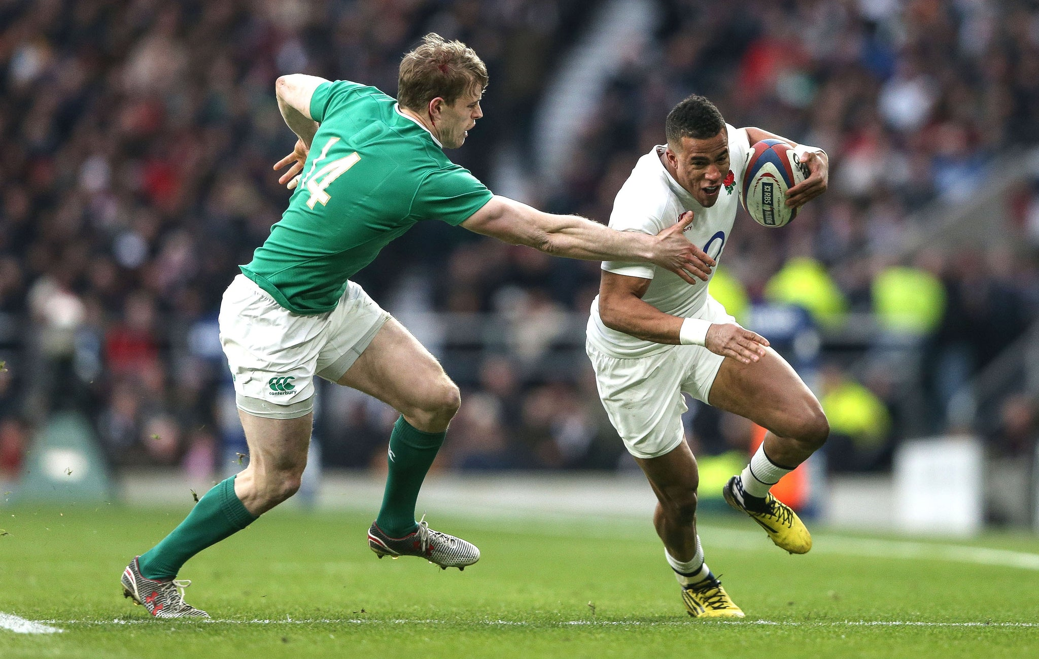 Six Nations Rugby - Ireland Vs England 2019 - Front Row Events