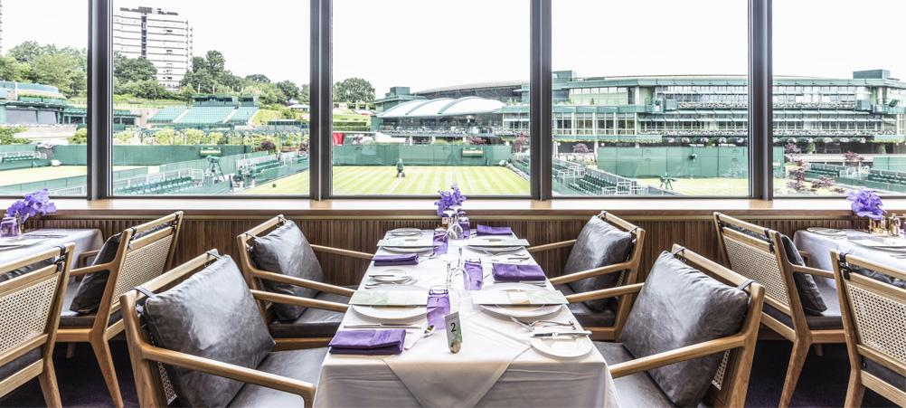 Wimbledon 2019 Centre Court Tickets with The Champions Room Restaurant - Front Row Events